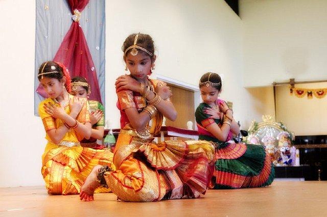Bharatanatyam Rehearsal