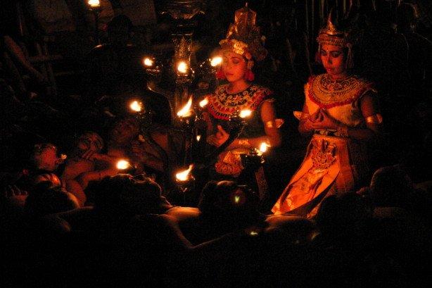 Twins in Trance (Bali, Indonesia)