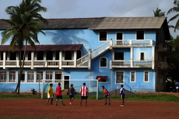 Football Game (Goa, India)