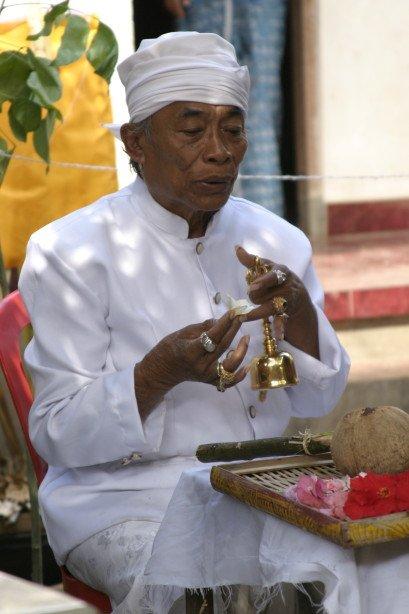 Monku Bapak Ketut Liyer basis of Eat, Pray, Love (Bali, Indonesia)