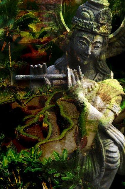 Bali Collage - Krishna Field